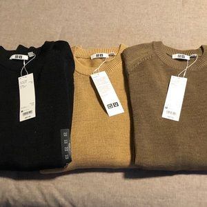 Men's UNIQLO Dry Touch Summer Crew Neck Sweater